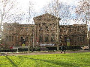 The conference venue, the Australian Museum