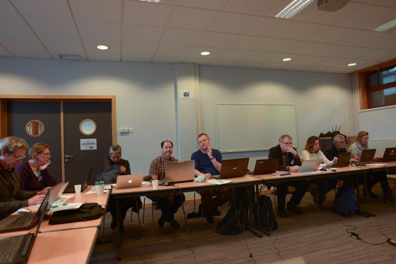 Thoughtful participants. Photo: AHS Tandberg