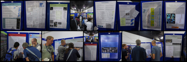From the poster session - these are some (!) of the posters we were involved in