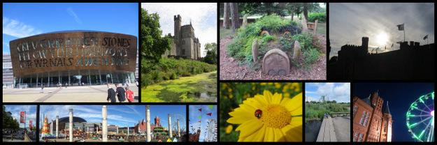 Snapshots of Cardiff