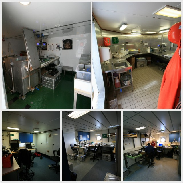 Lab facilities onboard